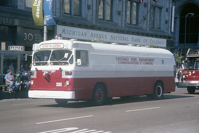4-2-4 BUS AT FIRE PREVENTION DAY PARADE
