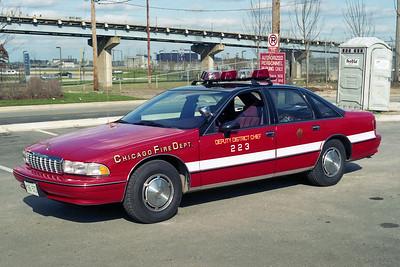 DEPUTY DISTRICT 2-2-3  1994  CHEVY CAPRICE   WHITE STRIPE   A-388