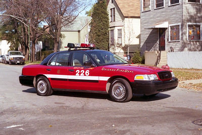 DEPUTY DISTRICT CHIEF 2-2-6  FORD CROWN VICTORIA