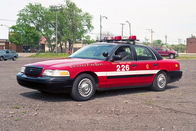 DEPUTY DISTRICT CHIEF 2-2-6  FORD CROWN VICTORIA   ACROSS FROM 104