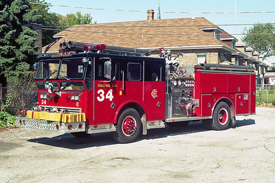 ENGINE 34  1974  WLF - 1986  RANGER - E-ONE   2000-500   D-378   X- ENGINE 49
