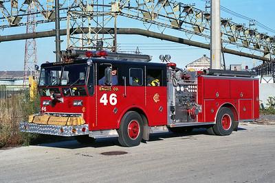 ENGINE 46  1970  WLF P80 - 1986  RANGER - E-ONE   D-376   X- ENGINE 22 & ENGINE 99