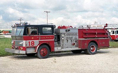 ENGINE 19  1970  WLF P80   2000-500   AT FRANKFORT