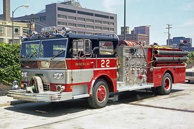 ENGINE 22  1970  WLF P80   2000-500   D-376