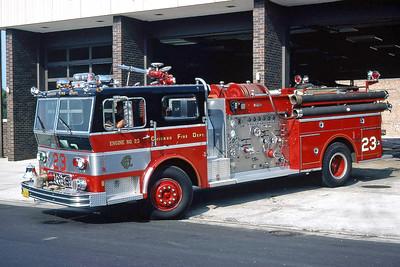 ENGINE 23    1973 WLF  1500-500   D-389