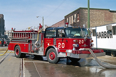 ENGINE 20  1978  ALF CENTURY   D-442    OFFICERS SIDE PUMPING