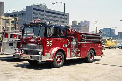 ENGINE 25  1974  MACK MB - HOWE   1250-5000   D-401