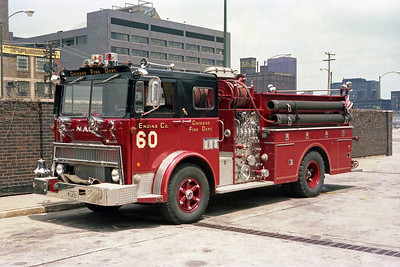 ENGINE 60  1974  MACK MB - HOWE   1250-500   D-400    AT FIRE ACADEMY