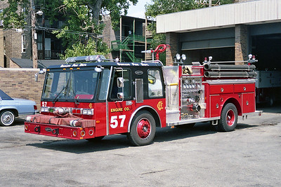 ENGINE 57  1985  E-ONE HURRICANE   1250-500   D-497
