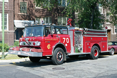 ENGINE 70  1976 FORD C-8000 - E-ONE  1250  500   D-426