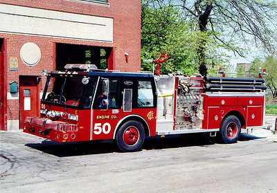 ENGINE 50  1985E-ONE HURRICANE   1250-500   D-