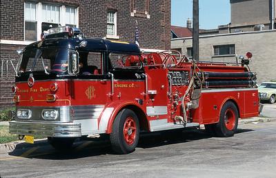 CHICAGO  ENGINE 96   1968 MACK C95   1250-500