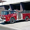 ENGINE 49  FORD C8000 - E-ONE  PRE-QUICK WATER