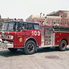 ENGINE 103  FORD C8000 -E-ONE