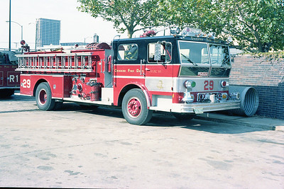 CHICAGO FD  ENG 29
