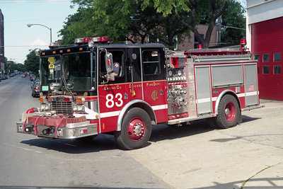 CHICAGO FD  ENGINE 83  HME - LUVERNE