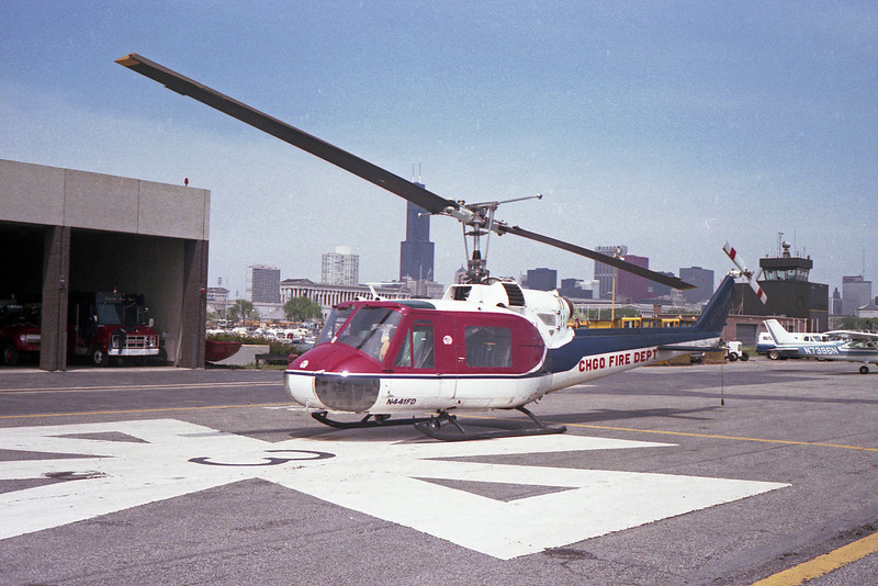 CFD  HELIPCOPTER  441   1961 UH-1B HUEY   BF