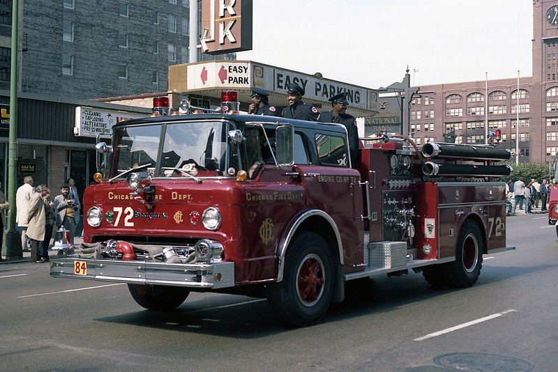 ENGINE 72  FORD C - SEAGRAVE