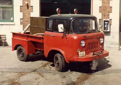 SHOP BUILT VEHICLE WITH A WINTER STARTING DEVICE. VEHICLE WAS KEPT AT ENG.109 AND TRK.32