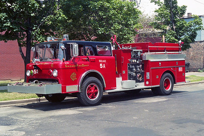 SQUAD 5A  1979  FORD C8000 - SEAGRAVE   D-449    1998  CFD SHOPS CONVERSION   X- ENGINE 4 & ENGINE 93