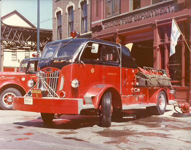 CFD SQUAD 1 AUTOCAR  A REAL WORKHORSE! BILL FRIEDRICH COLLECTION