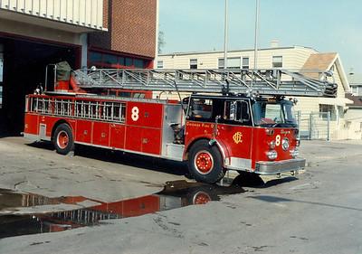 TRUCK 8 1977 SEAGRAVE 100' E-216