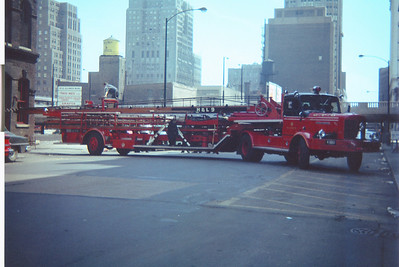 HOOK & LADDER 9 1956 FWD 85'  EF-145