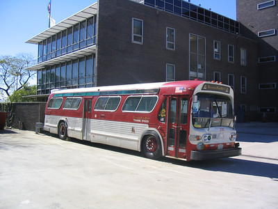 CHICAGO FD TRAINING BUS 290 AT THE ACADEMY