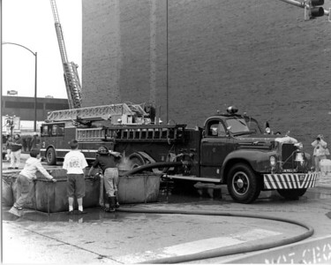 5-11 CLUB MUSTER AT THE FIRE ACADEMY  ENGINE 87 CLUB MACK B95 DRAFTING