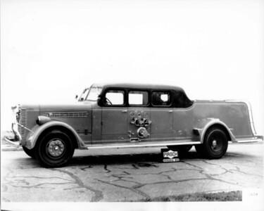 CHICAGO FD  ENGINE  PIRSCH DELIVERY PHOTO