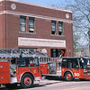 CHICAGO  ENGINE 50  E-ONE HURRICANE  AND TRUCK 18  SEAGRAVE 100'