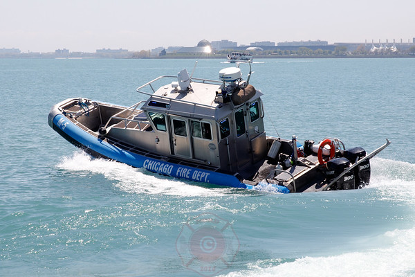 Temporary CFD Fast Boat 6-8-8