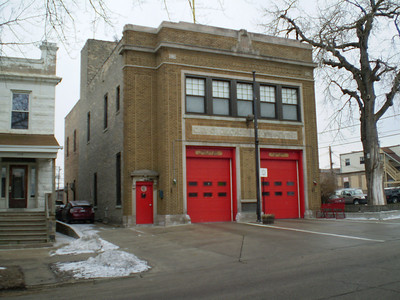 Former CFD Engine 102  -  1723 W Greenleaf Street