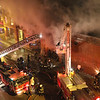 CHICAGO 2-11 ALARM FIRE 1896 N. MILWAUKEE AVE 1/26/11 :
