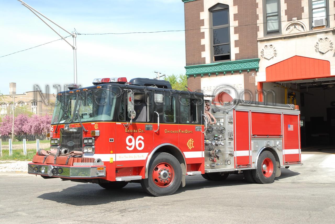 CHICAGO ENGINE 96 - 2002 SPARTAN/CRIMSON 1500/500 #FDD592