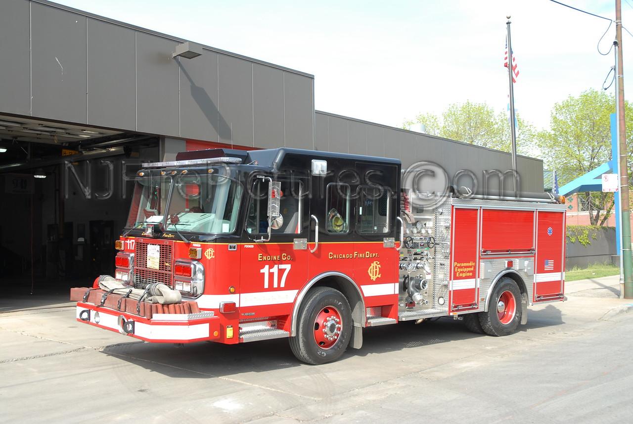 CHICAGO ENGINE 117 - 2005 SPARTAN/CRIMSON 1500/500 #FDD629