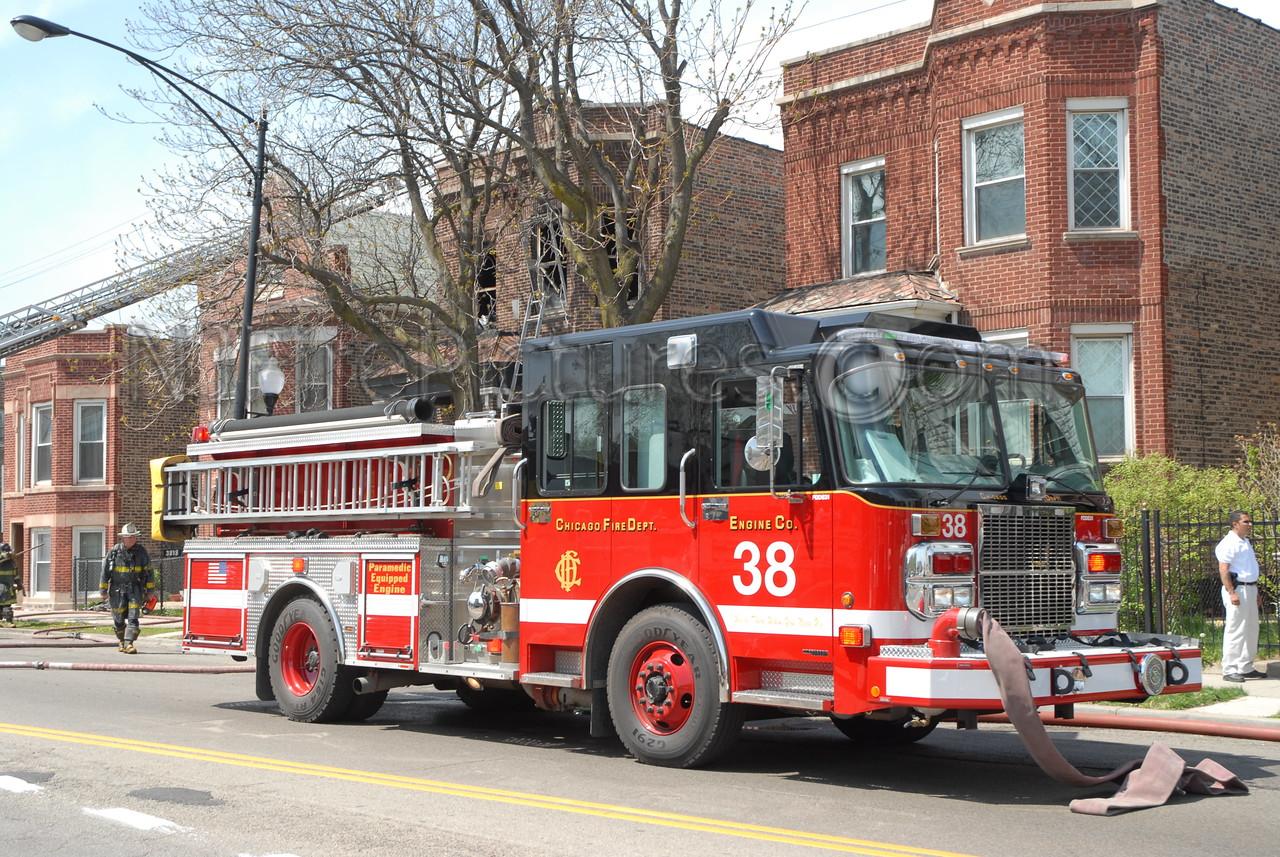 CHICAGO ENGINE 38 - 2005 SPARTAN/CRIMSON 1500/500