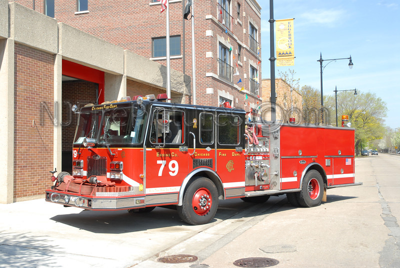CHICAGO ENGINE 79 - 1992 SPARTAN/LUVERNE 1500/500  #FDD534