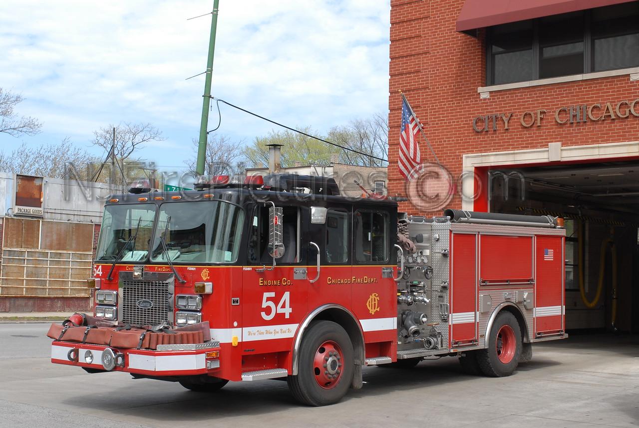 CHICAGO ENGINE 54 - 2002 SPARTAN/LUVERNE 1500/500 #FDD601