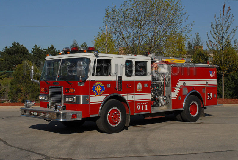 NORTHFIELD, IL ENGINE 29 - 1987 PIERCE LANCE 1250/500