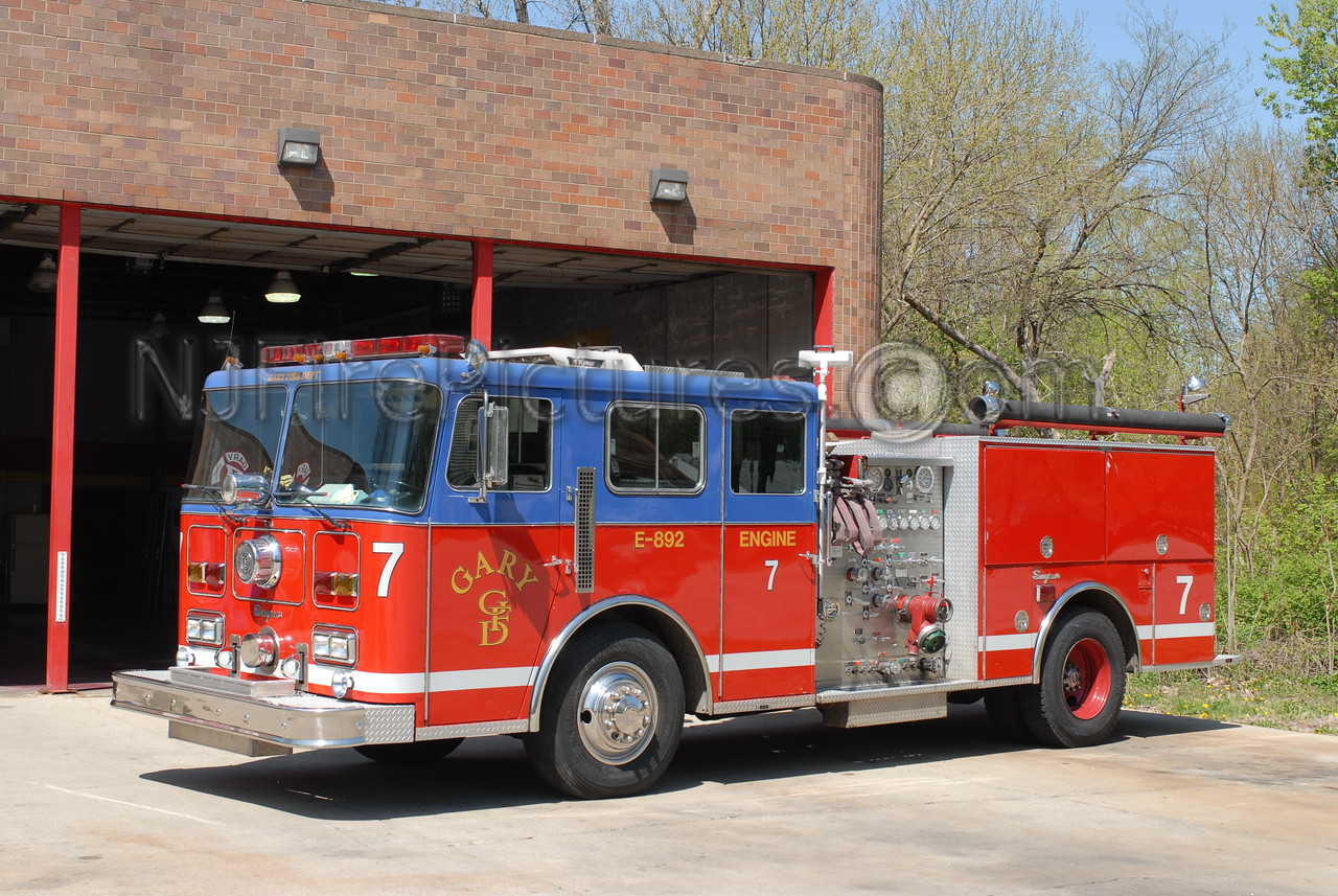 Gary - Engine 7 - 1989 Seagrave 1500/500