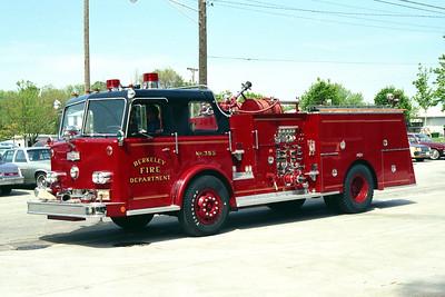 BERKELEY ENGINE 355  1969 PIRSCH  1250-500