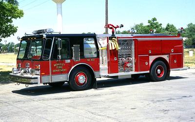 BERKELEY ENGINE 353  1986 HURRICANE E-ONE  1500-500