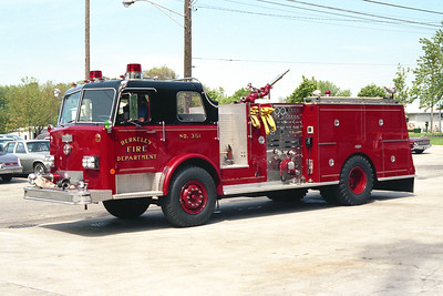 BERKELEY ENGINE 351  1976 PIRSCH  1500-500