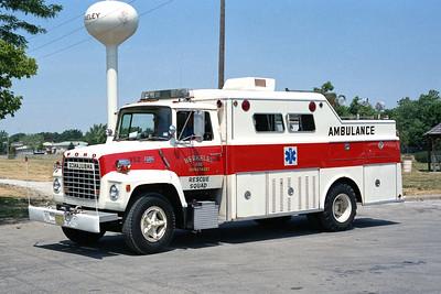 BERKELEY SQUAD 352  1973 FORD L800 - WELCH