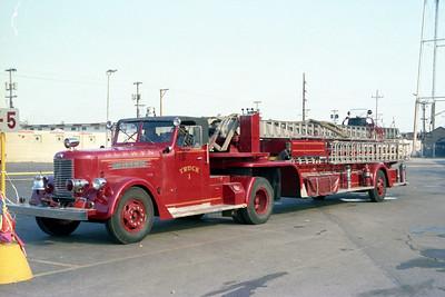 BERWYN  TRUCK 94  1954 PIRSCH  100' TDA