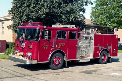 BERWYN  ENGINE 93  1992 SEAGRAVE   1250-500-60F