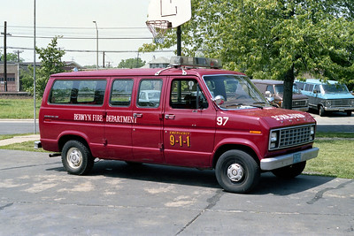 BERWYN  CAR 97  1986 FORD ECONOLINE VAN