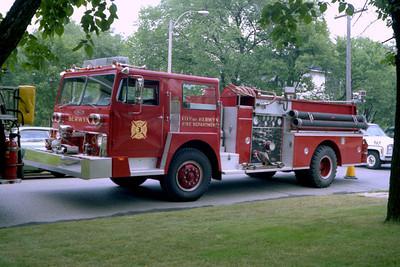 BERWYN ENGINE 93  HENDRICKSON - PIERCE