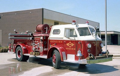 BROADVIEW ENGINE 215  ALFCO 700 OFFICERS SIDE